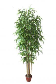Blanke Kunst-bamboe 220cm