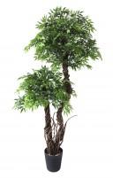 Groene Kunst-Fruticosa dubbele kruin 165cm