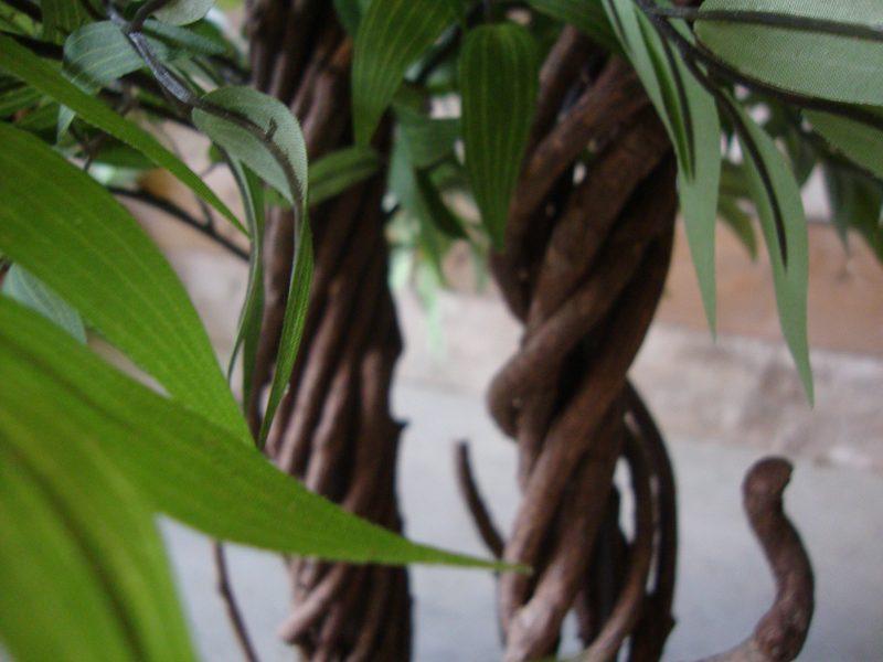 Groene Kunst-Fruticosa dubbele kruin 165cm - stamdetail
