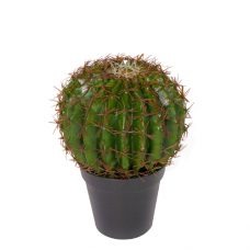 Kleine Kunstbolcactus 12cm