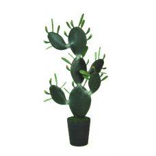 Kunst Schijfcactus Fez 120cm