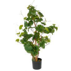 Kunstdruivenplant 80cm