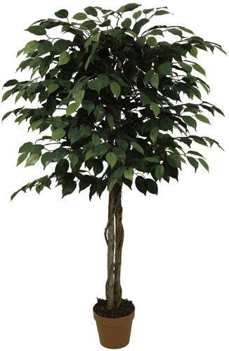Kleine groene kunstficus 130cm
