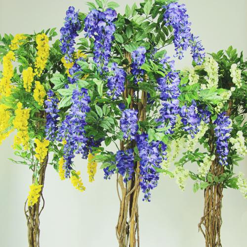 Blauwe Kunstwisteria Kiruna 180cm