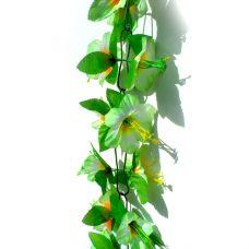 Kunstbloemenslinger groen 200cm