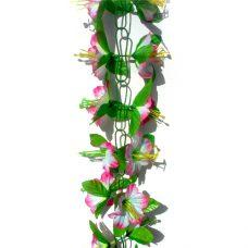 Kunstbloemslinger rose 200cm