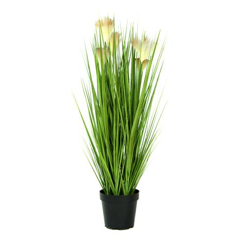 Kunstgras-planten Bloempluim 90cm