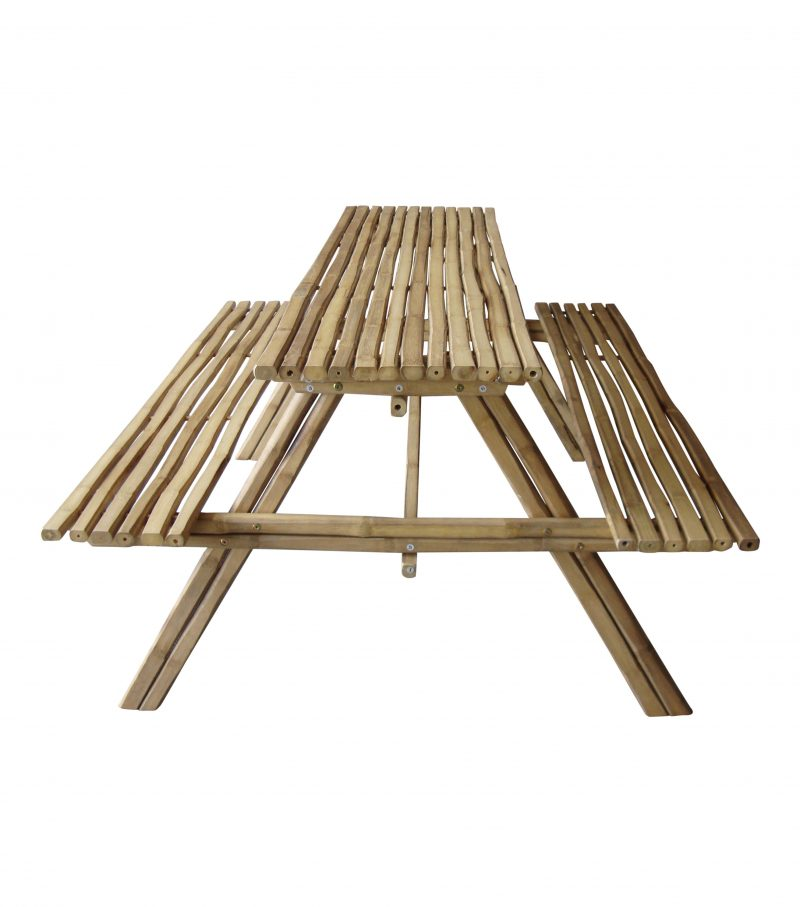 Bamboe Picknicktafel