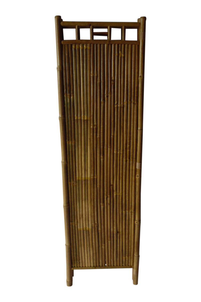 Driedelig bamboe kamerscherm 175cm