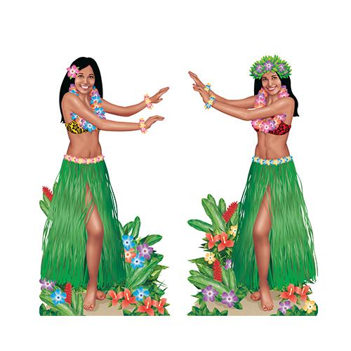 Hawaii danseressen 85cm-165cm