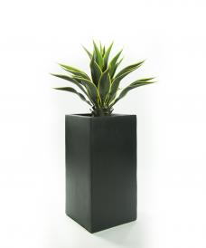 Kunst-agave geel-groen Compleet 105cm