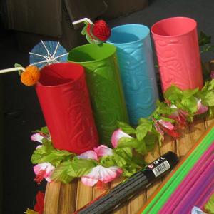 Tiki-totem cocktailbeker
