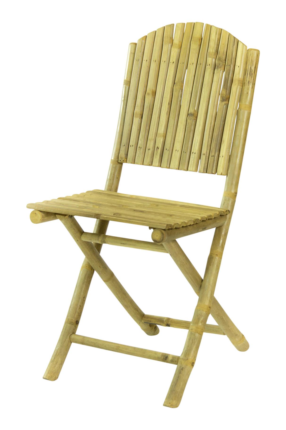 Bamboe Klapstoel