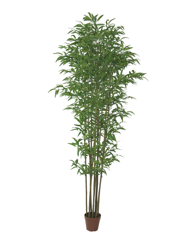 Grote Blanke Kunstbamboeplant 300cm
