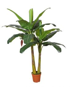 Kunstbananenplant Equador 140cm