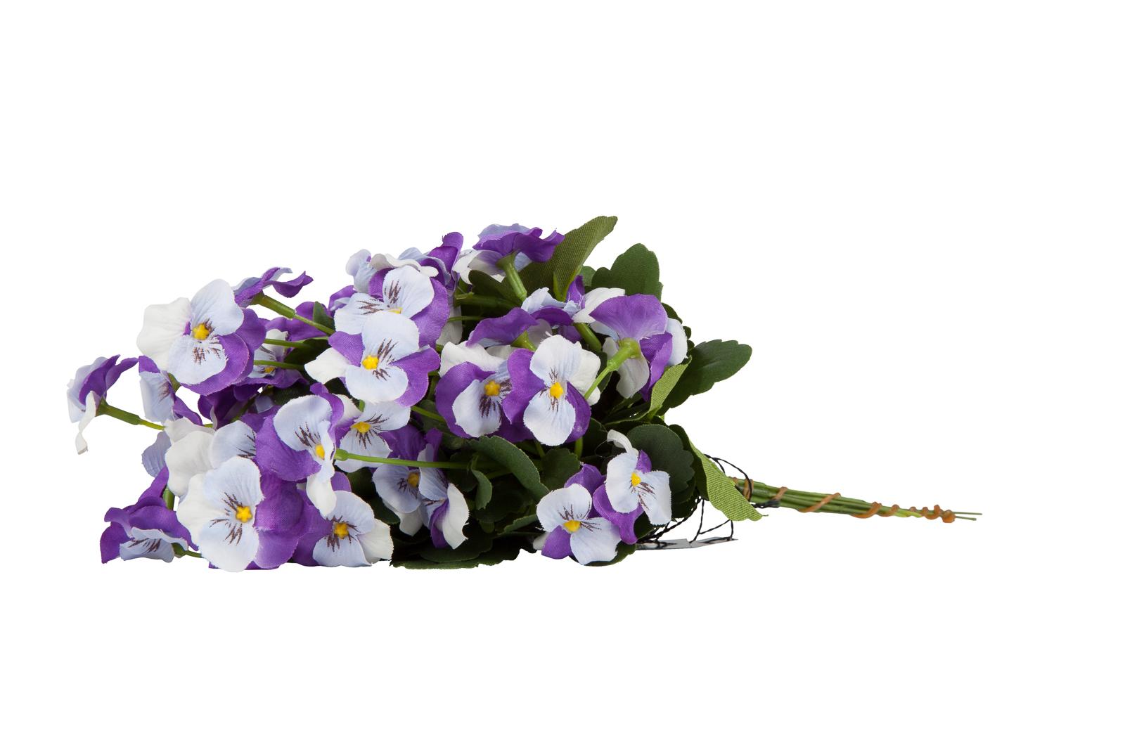 Kunst Madeliefjes Bosje Violet 23cm