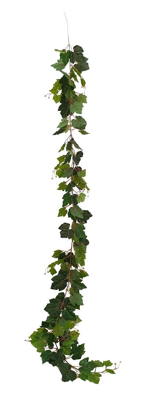Lange Namaak Druivenblad Slinger 220cm