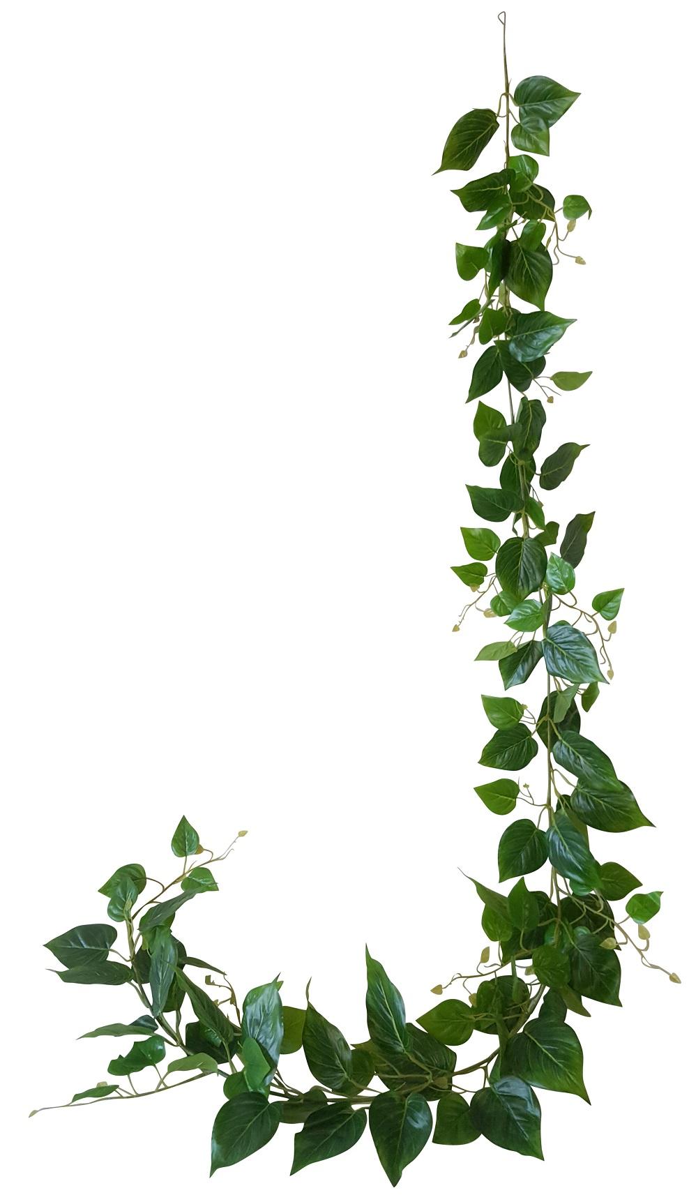 Kunstliaan groen 220cm