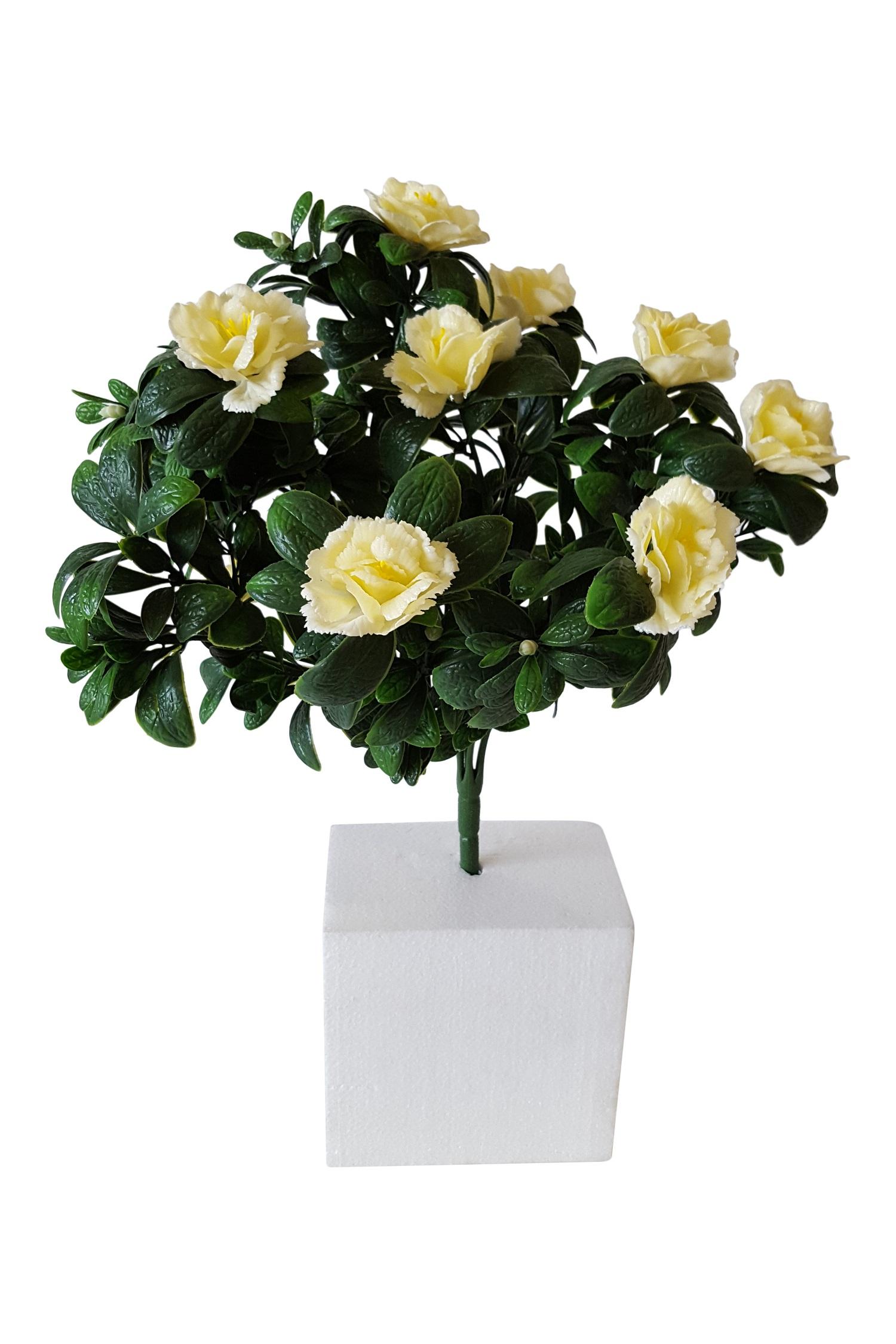 Kunstbloemen Plant voor Buiten Wit