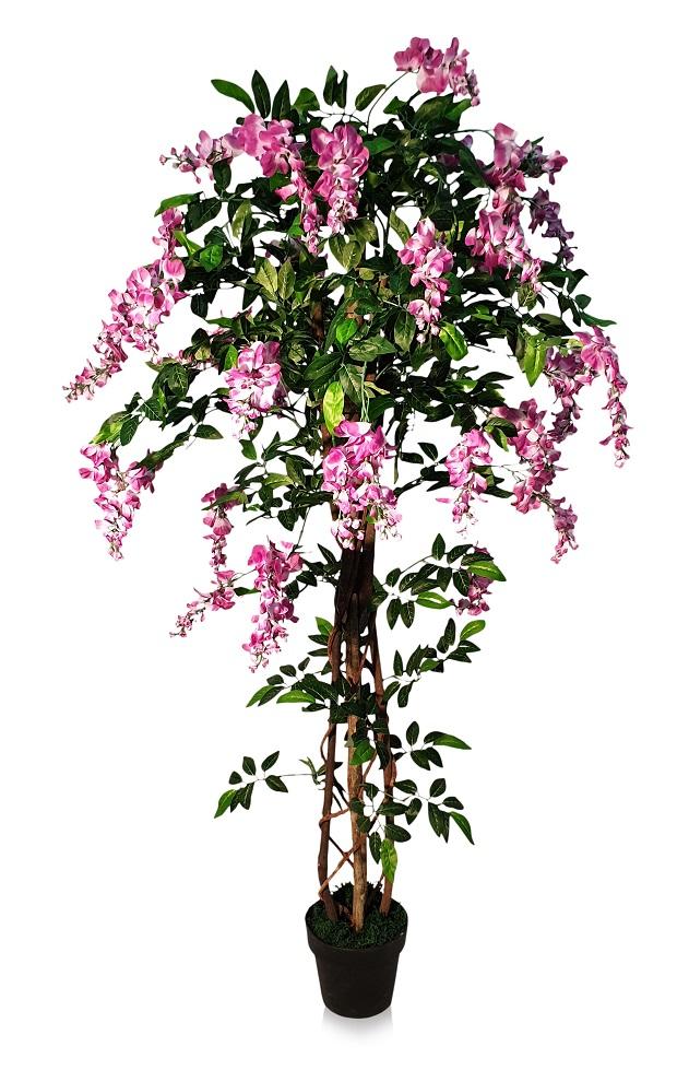 Kunst Bloemboom Kiruna Rose 165cm