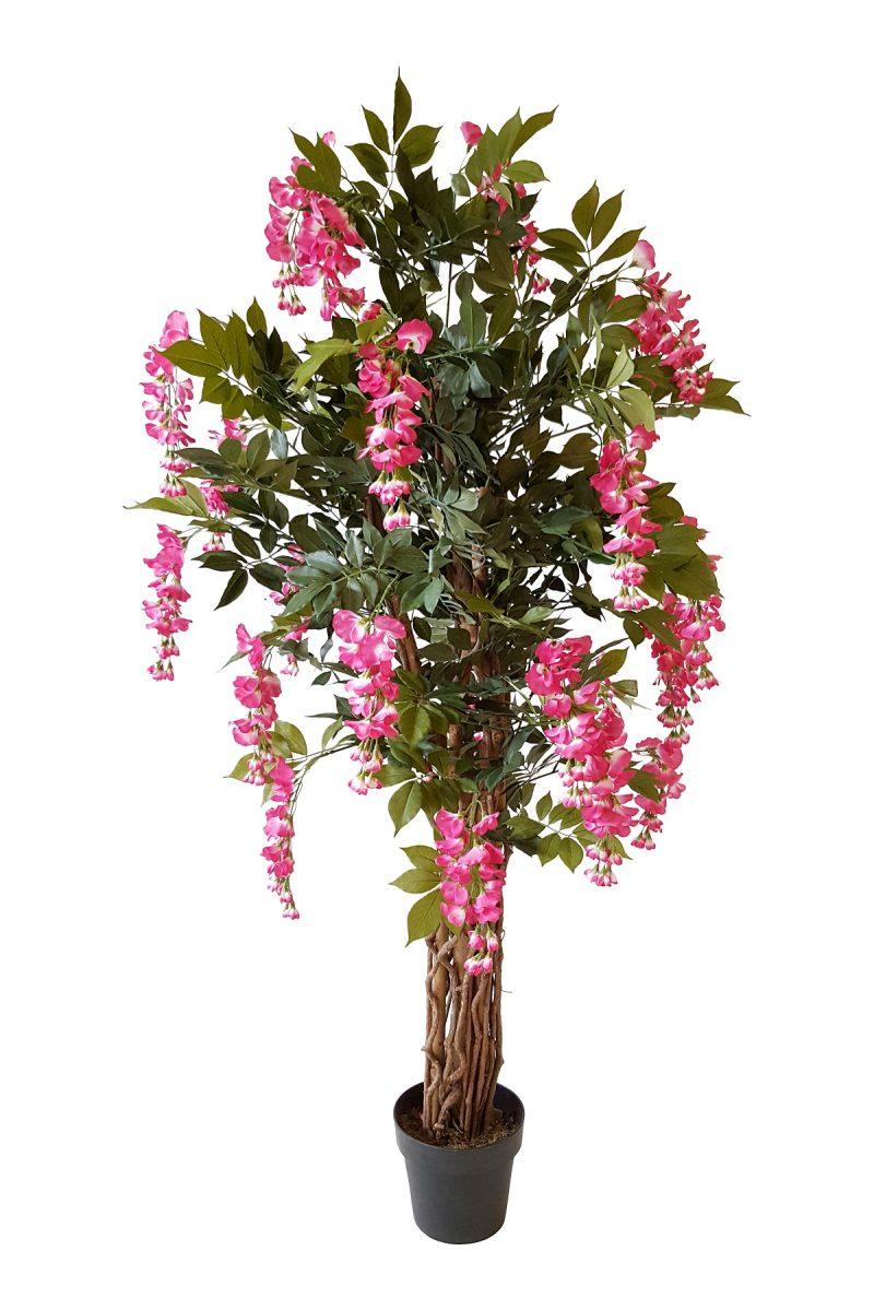 Kunst bloemboom Kiruna Rose 155cm