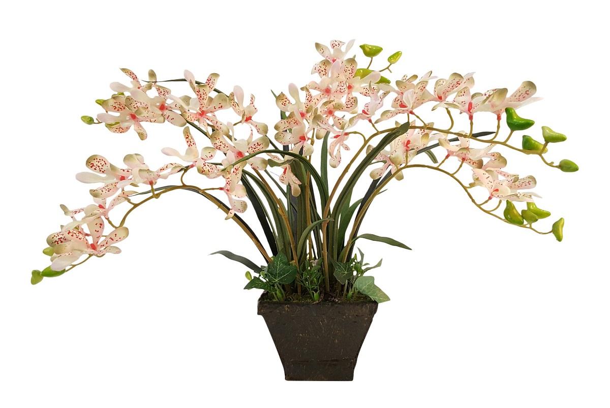 Kunst Orchidee Roze 45cm