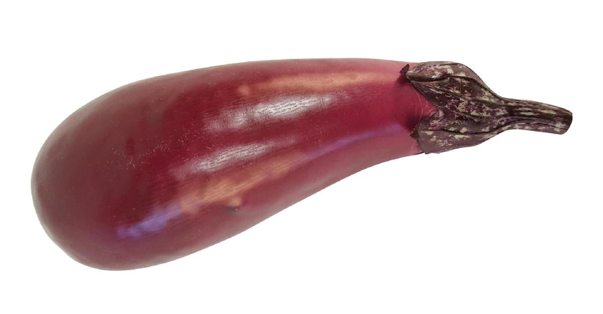 Namaak Aubergine 17cm