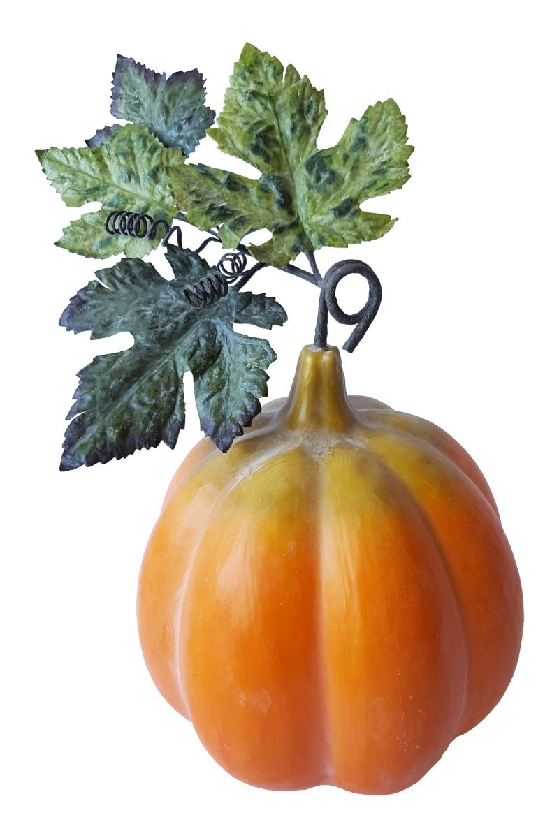 Oranje Namaak Sier Pompoen 20cm