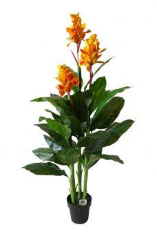 Namaak Canna Oranje 165cm