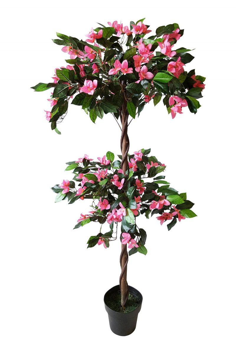 Roze Bloemboompje Asker 150cm