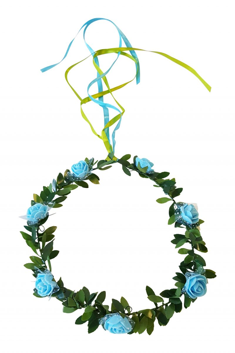 Bloemen Haarkrans Set van 6 Mixkleur