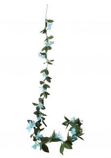 Kunstbloemen Slinger Clematis Blauw 230cm