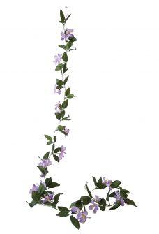 Kunstbloemslinger Clematis Lila 230cm