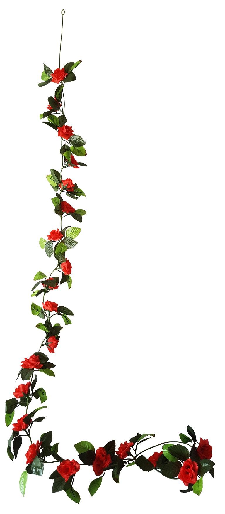 Rode Rozenslinger 200cm