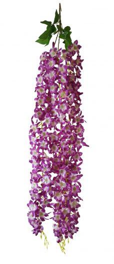 Bloembundel Paars-Wit 110cm