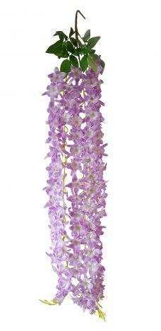 Bloembundel Lila-Wit 110cm