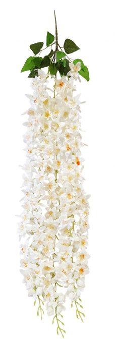 Bloembundel Wit 110cm