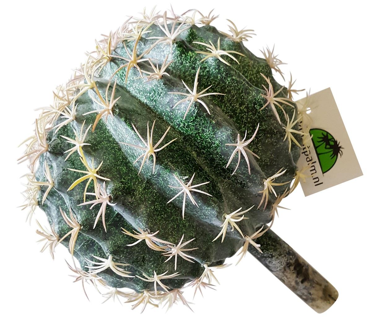 Kunst Bol Cactus 19cm