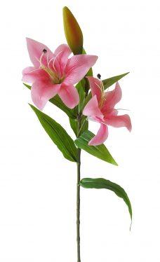 Rose Kunst Lelie 75cm