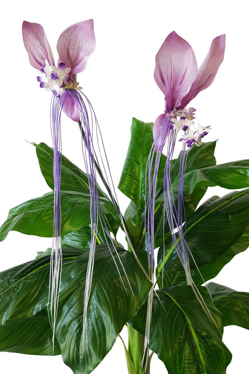 Tropische XL Orchidee Steker Paars 100cm