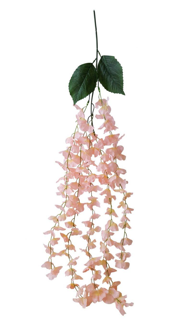 Wisteria Bloembundel Rose 95cm