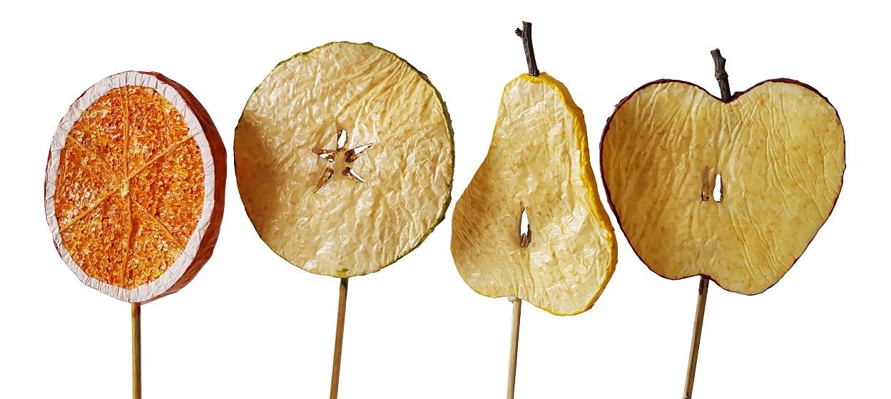 Deco Fruit Schijven Prikkers Klein 4x