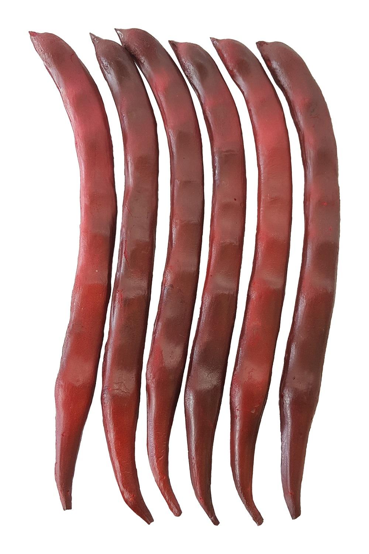 Set Namaak Snijbonen Rood 24cm