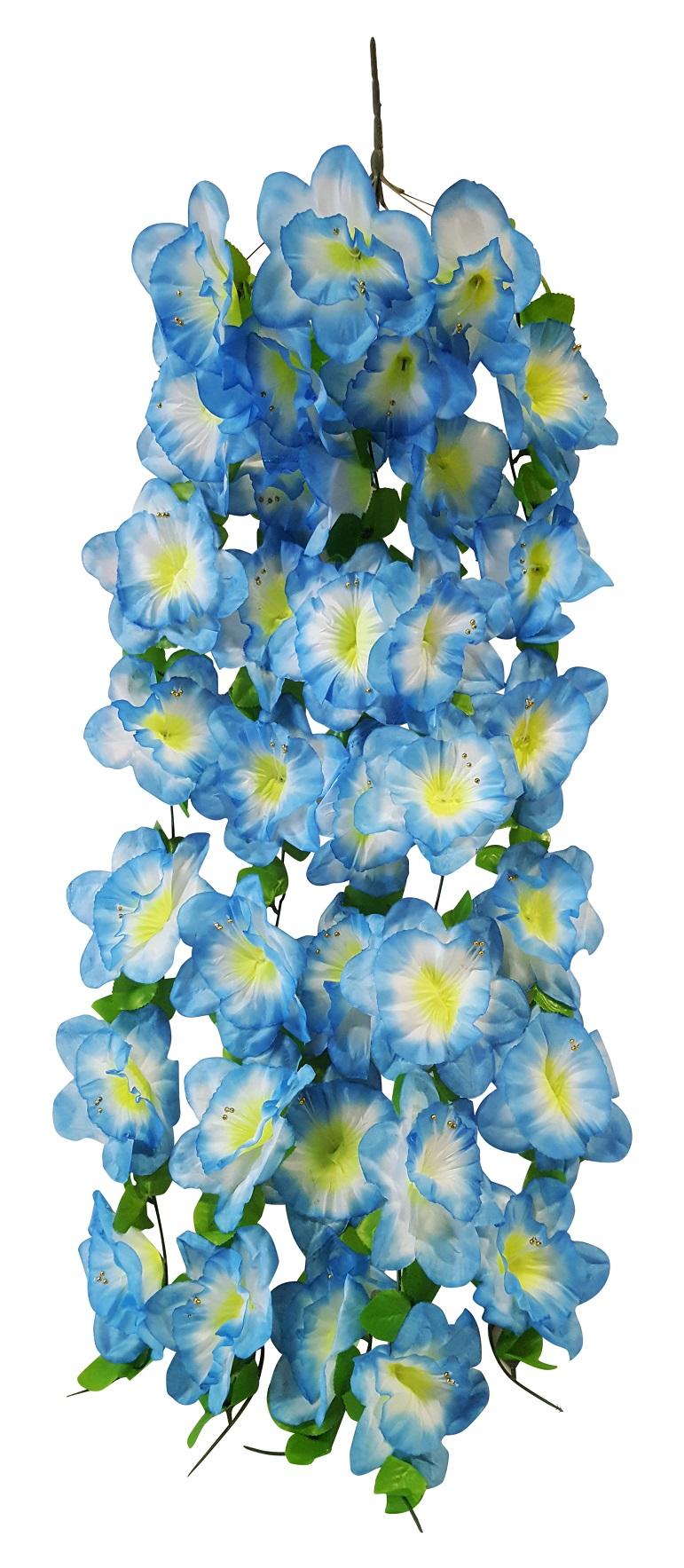 Grootbloem Bundel Blauw Wit 100cm