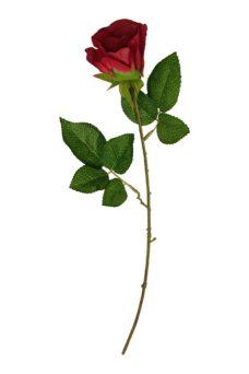 Rode Kunst Roos 55cm