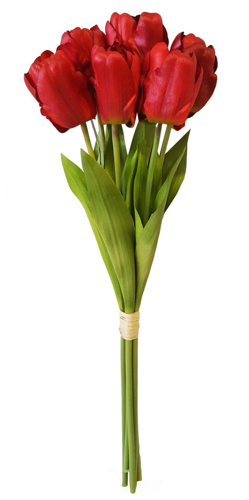 Rode Kunst Tulp 44cm