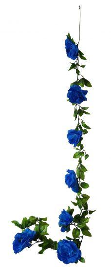 Grote Blauwe Rozen Slinger 180cm