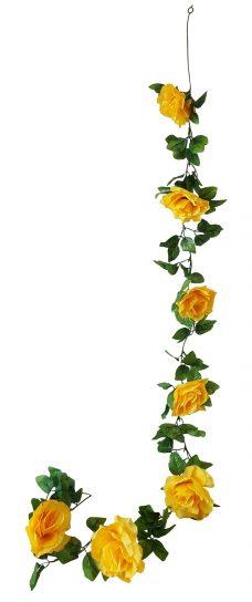 Grote Gele Rozen Slinger 180cm