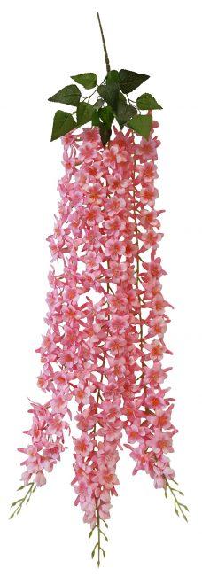 Kunstbloemen Bundel Roze 110cm
