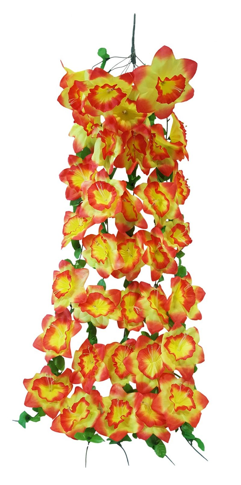 Grootbloem Bundel Oranje Geel 100cm